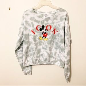 Disney marble Mickey Mouse icon sweatshirt